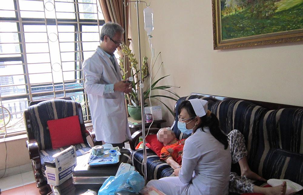 Dịch vụ điều dưỡng tại nhà
