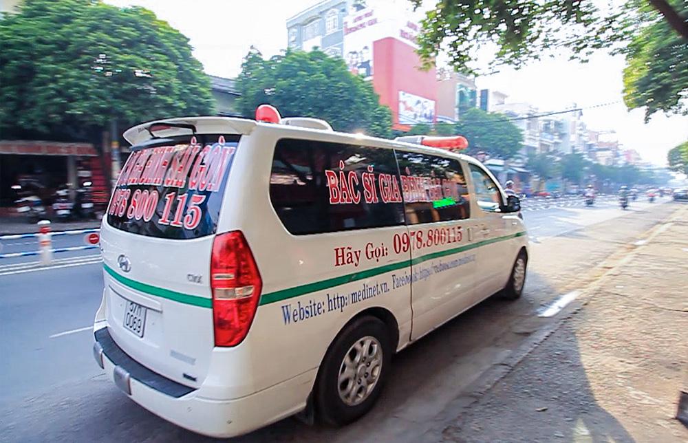 Dịch vụ vận chuyển bệnh nhân