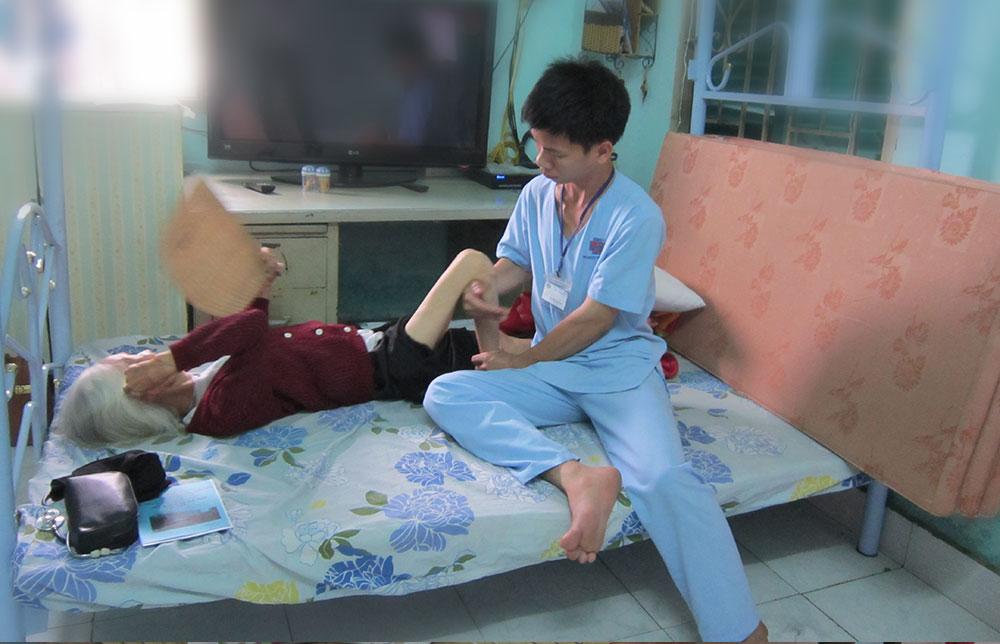 Dịch vụ tập vật lý trị liệu tại nhà